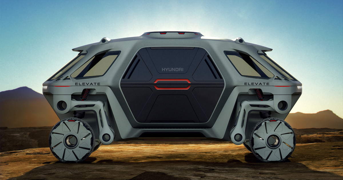 The Hyundai Elevate Concept