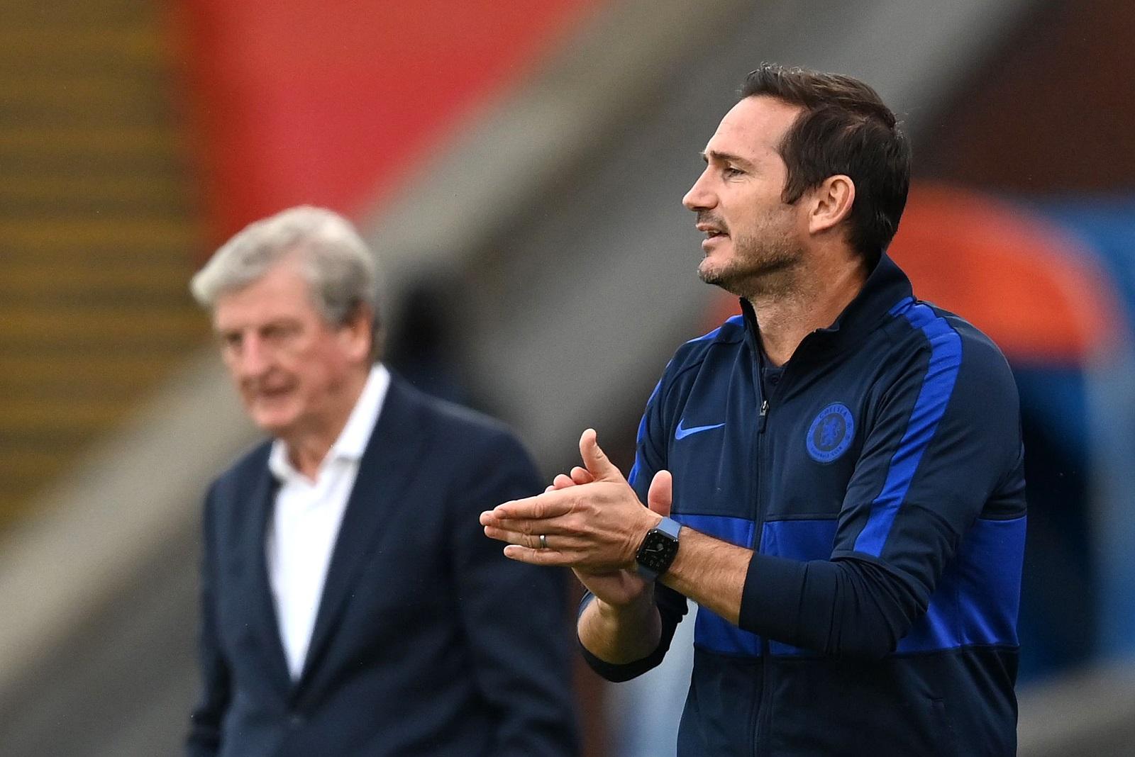 Frank Lampard coaching