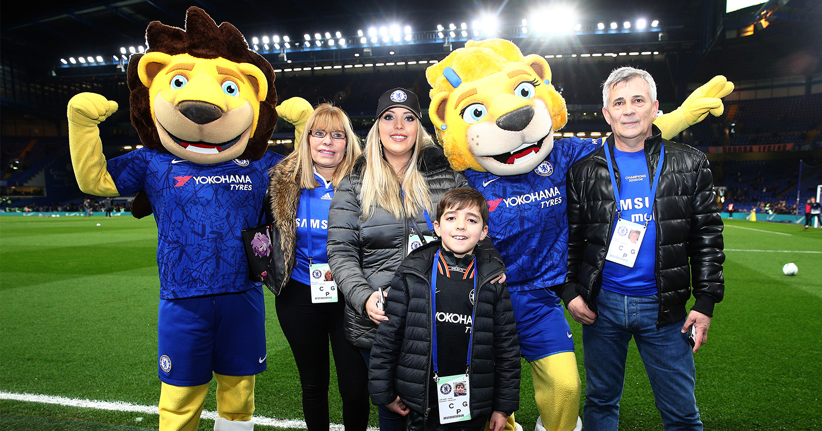 Family pitch-side